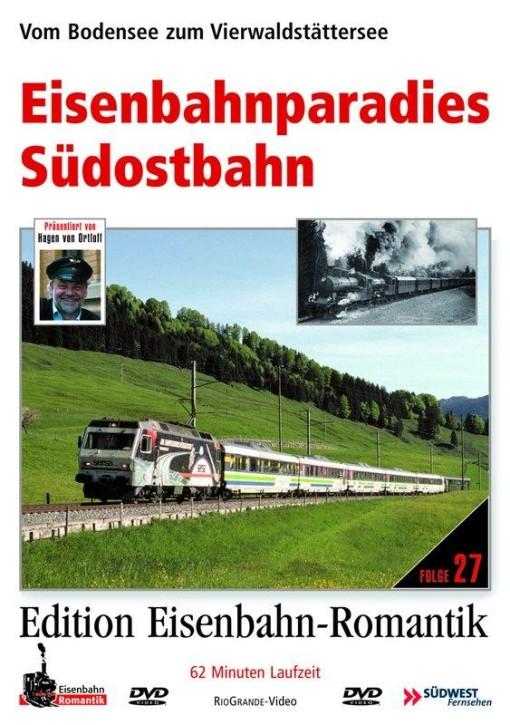 DVD: Eisenbahnparadies Südostbahn