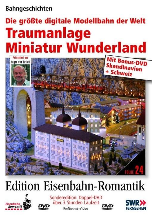 Doppel-DVD: Traumanlage Miniatur Wunderland