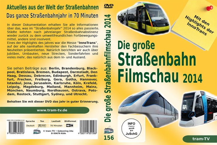 Blu-ray: Die große Straßenbahnfilmschau 2014