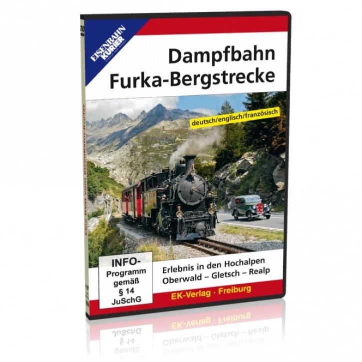 DVD: Dampfbahn Furka-Bergstrecke. Erlebnis in den Hochalpen Oberwald - Gletsch - Realp