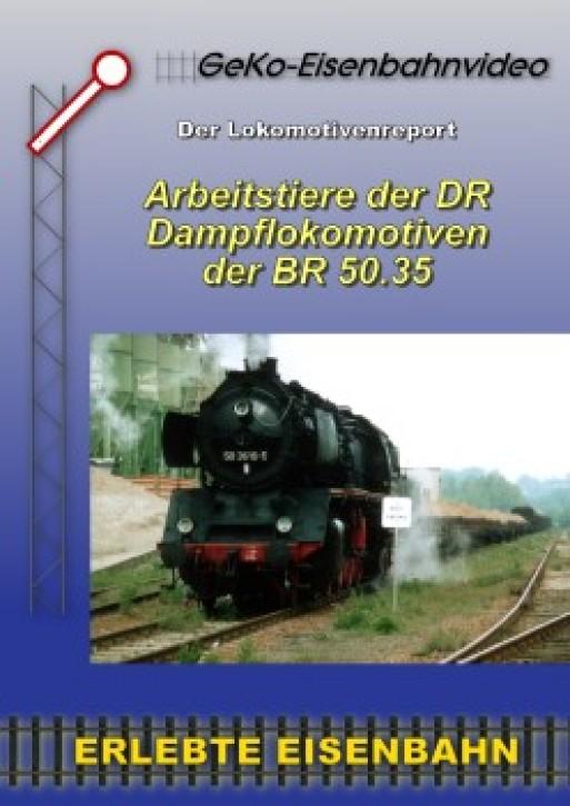 DVD: Arbeitstiere der DR – Die Baureihe 50.35