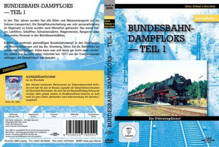 DVD: Bundesbahn-Dampfloks Teil 1: Im Güterzugdienst