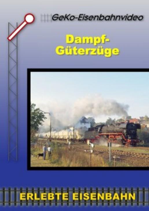 DVD: Dampf-Güterzüge