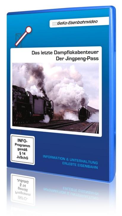 DVD: Das letzte Dampflokabenteuer - Der Jingpeng-Pass