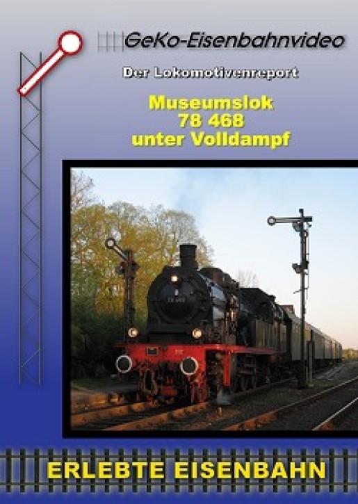 DVD: Museumslok 78 468 unter Volldampf