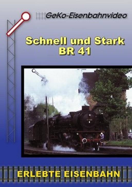 DVD: Schnell und stark - BR 41