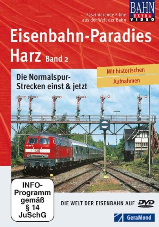DVD: Eisenbahn-Paradies Harz Teil 2. Die Normalspur-Strecken