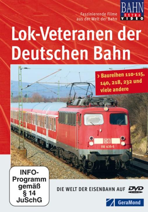 DVD: Lok-Veteranen der Deutschen Bahn. Baureihen 110-115, 140, 218, 232 und viele andere