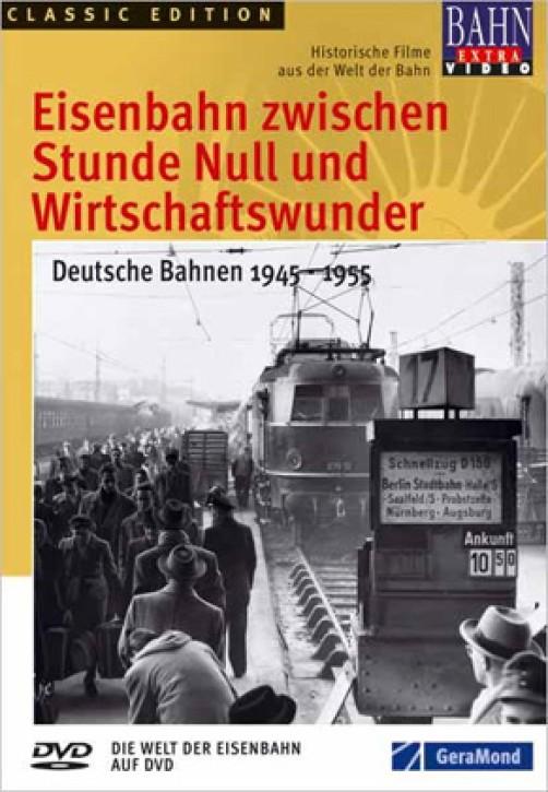 DVD: Eisenbahn zwischen Stunde Null und Wirtschaftswunder