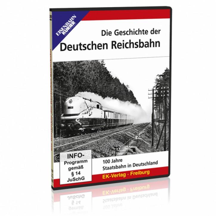 DVD: Die Geschichte der Deutschen Reichsbahn. 100 Jahre Staatsbahn in Deutschland
