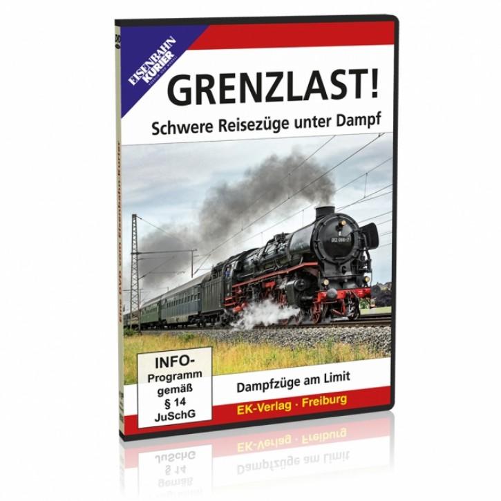 DVD: GRENZLAST! Schwere Reisezüge unter Dampf
