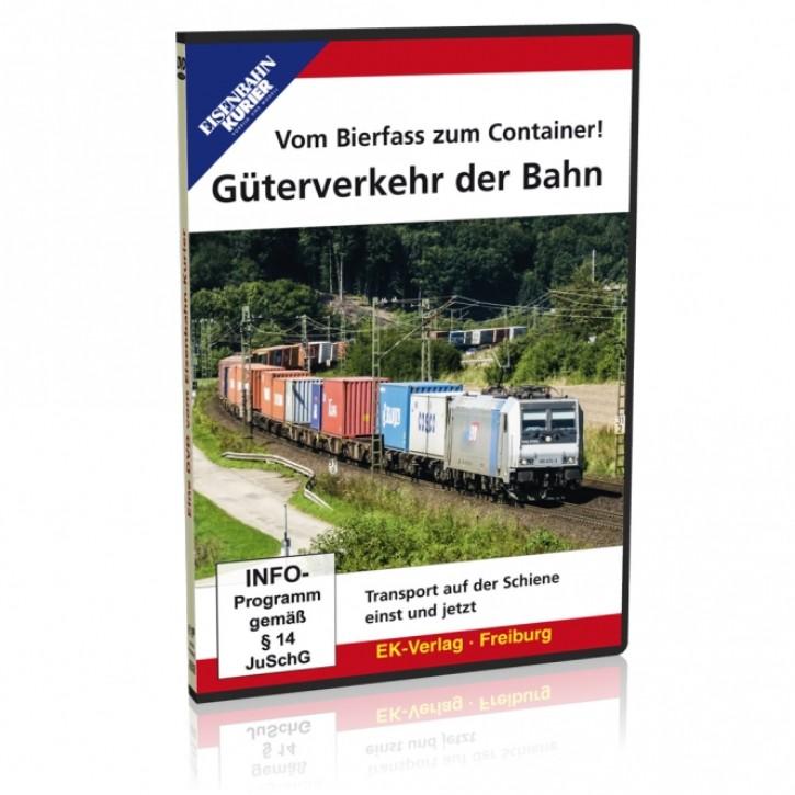 DVD: Vom Bierfass zum Container! Güterverkehr der Bahn. Transport auf der Schiene einst und jetzt