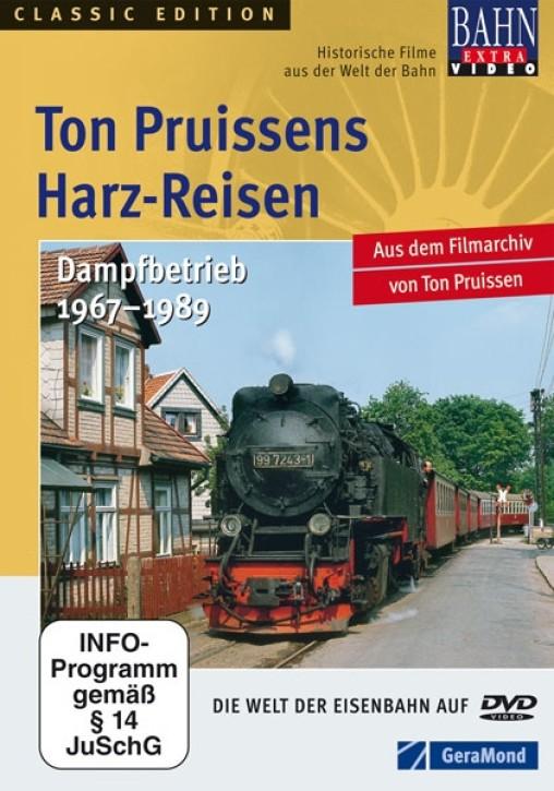 DVD: Ton Pruissens Harz-Reisen. Dampfbetrieb 1967–1989