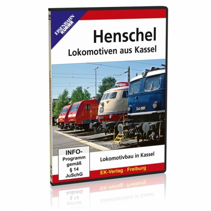 DVD: Henschel. Lokomotiven aus Kassel. Von Drache bis TRAXX