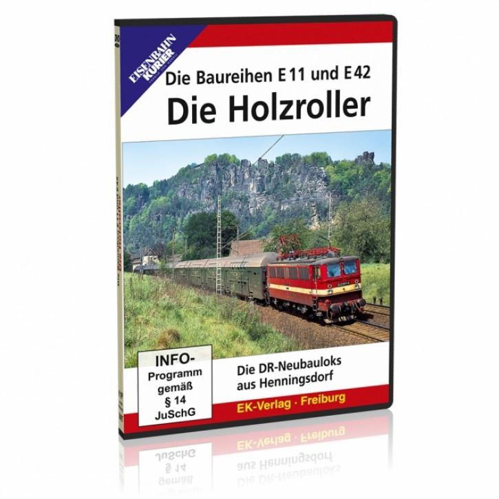 DVD: Die Holzroller. Die Baureihen E 11 und E 42