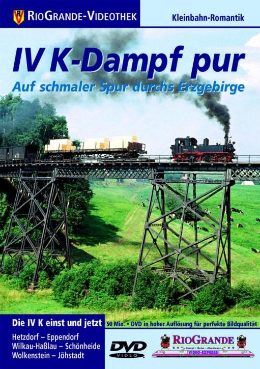 DVD: IV K-Dampf pur - Auf schmaler Spur durchs Erzgebirge