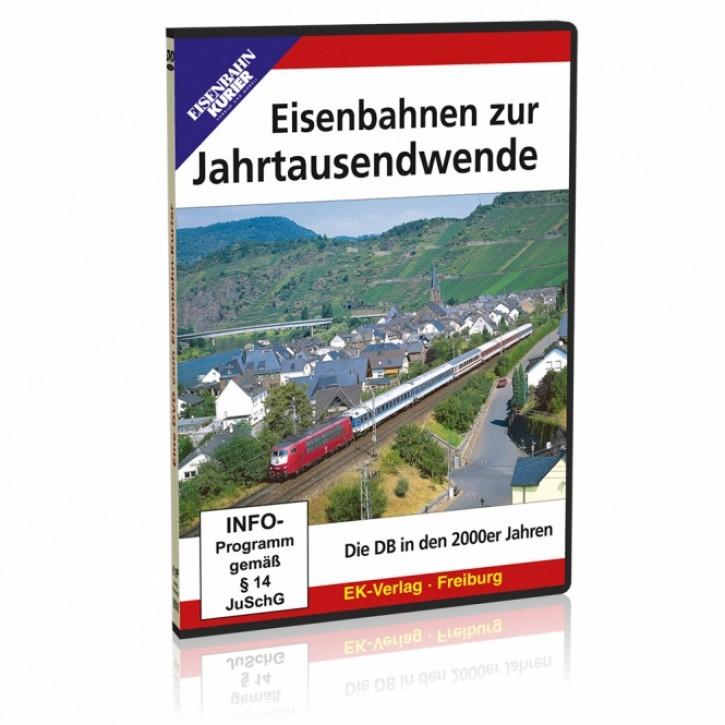 DVD: Eisenbahnen zur Jahrtausendwende. Die DB in den 2000er Jahren