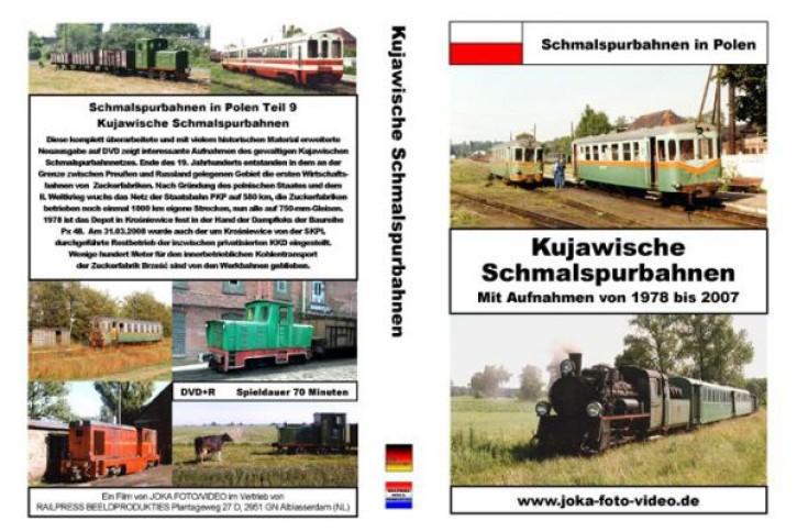 DVD: Schmalspurbahnen in Polen. Kujawische Schmalspurbahnen