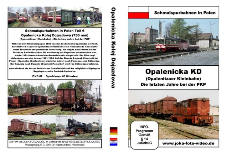 DVD: Schmalspurbahnen in Polen. Opalenicka KP (Opalenitzaer Kleinbahn). Die letzten Jahre bei der PKP
