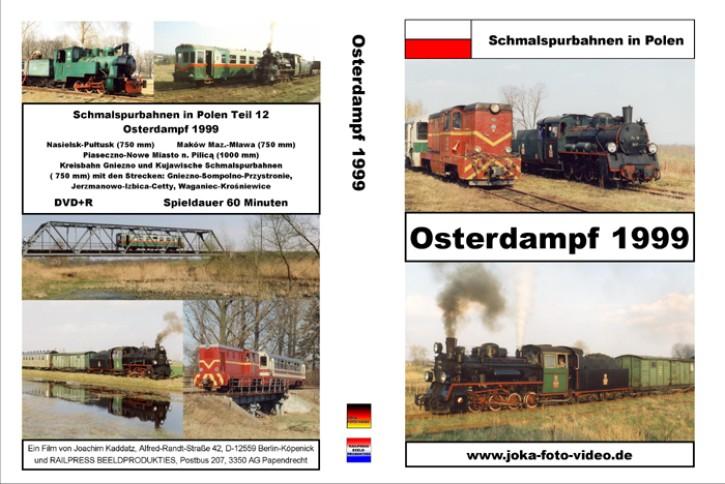 DVD: Schmalspurbahnen in Polen. Osterdampf 1999