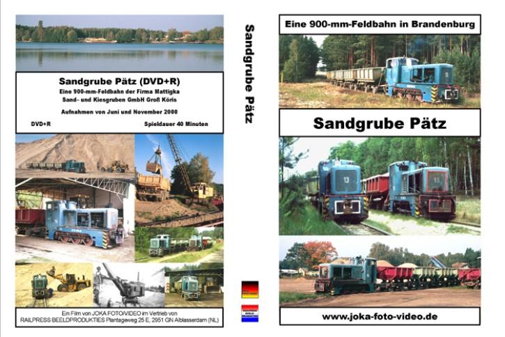 DVD: Sandgrube Pätz. Eine 900-mm-Feldbahn in Brandenburg