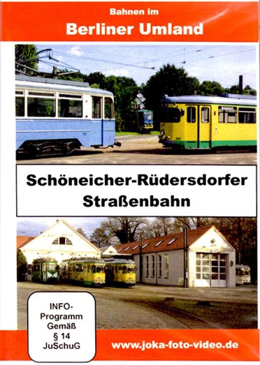 DVD: Bahnen im Berliner Umland. Schöneicher-Rüdersdorfer Straßenbahn