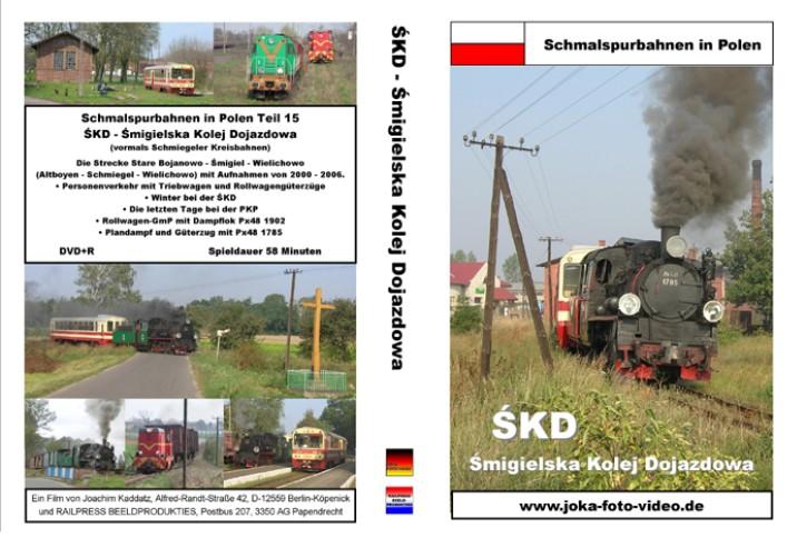DVD: Schmalspurbahnen in Polen SKD. Smigielska Kolej Dojazdowa (Schmiegeler Kreisbahnen)