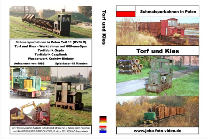 DVD: Schmalspurbahnen in Polen. Torf und Kies