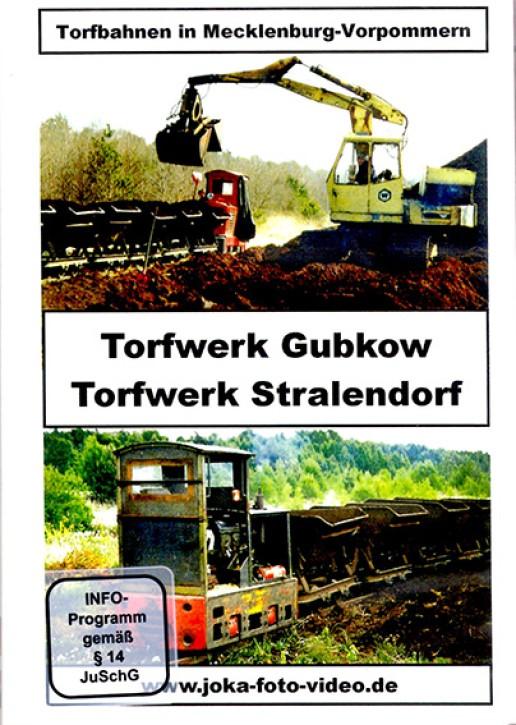 DVD: Torfbahnen in Mecklenburg-Vorpommern. Torfwerk Gubkow und Torfwerk Stralendorf
