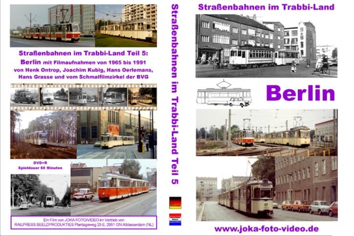 DVD: Straßenbahnen im Trabbi-Land Teil 5. Berlin