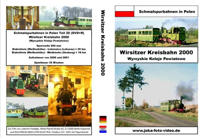 DVD: Schmalspurbahnen in Polen. Wirsitzer Kreisbahn 2000