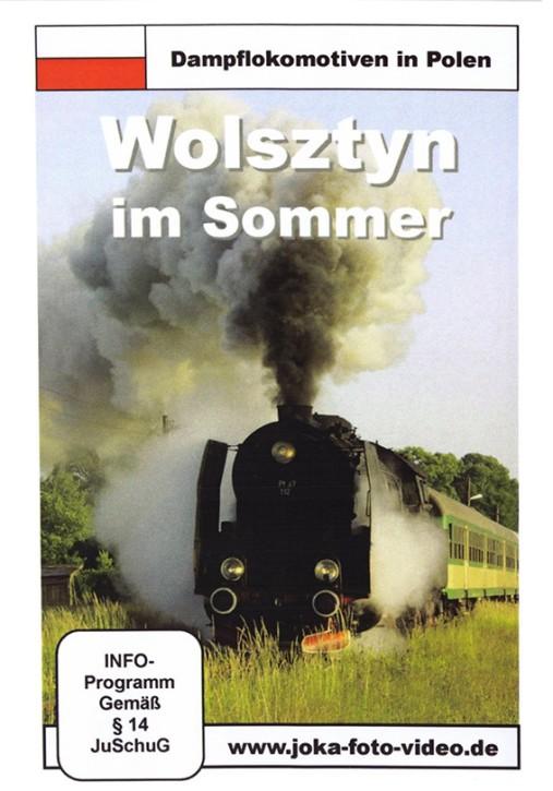 DVD: Dampflokomotiven in Polen. Wolsztyn im Sommer