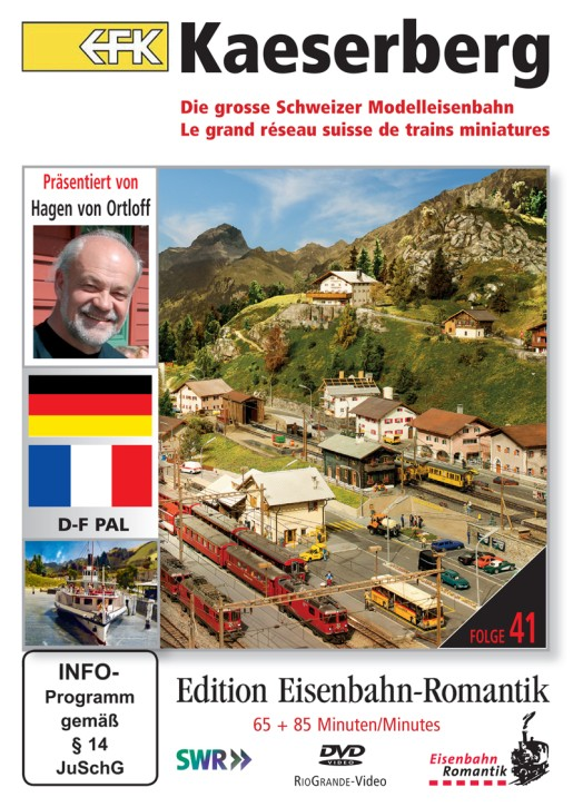 DVD: Kaeserberg. Die grosse Schweizer Modelleisenbahn