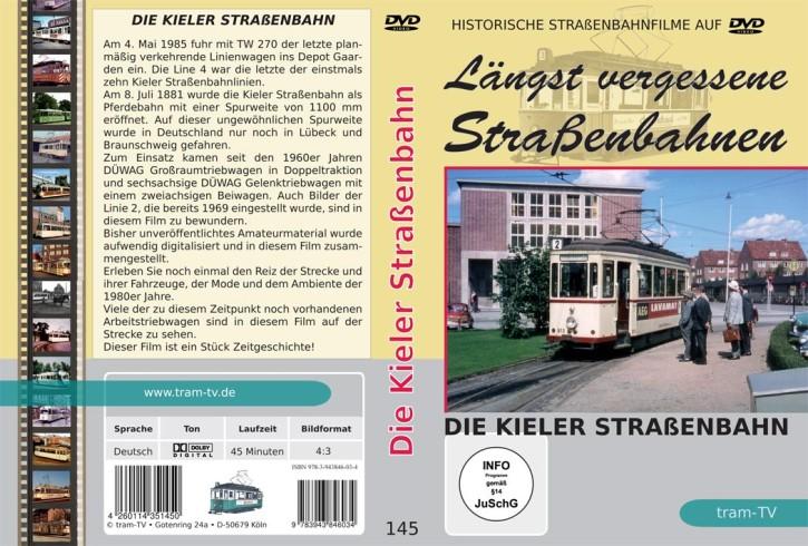 DVD: Längst vergessene Straßenbahnen. Die Kieler Straßenbahn