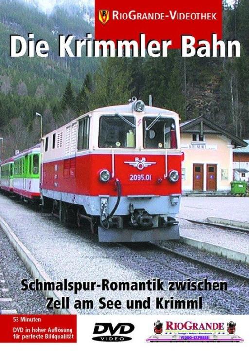 DVD: Die Krimmler Bahn. Schmalspur-Romantik zwischen Zell am See und Krimml