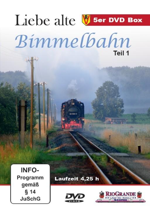 DVD:  Liebe alte Bimmelbahn Teil 1. Legenden auf schmaler Spur