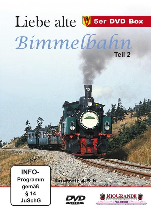 DVD:  Liebe alte Bimmelbahn Teil 2. Legenden auf schmaler Spur