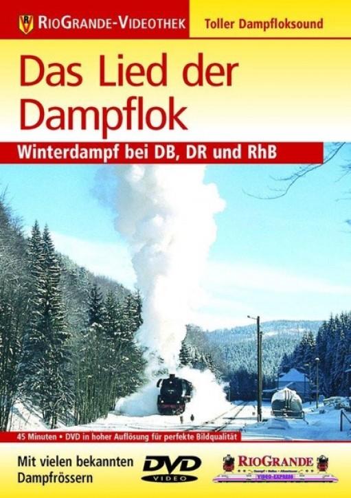 DVD: Das Lied der Dampflok. Winterdampf bei DB, DR und RhB