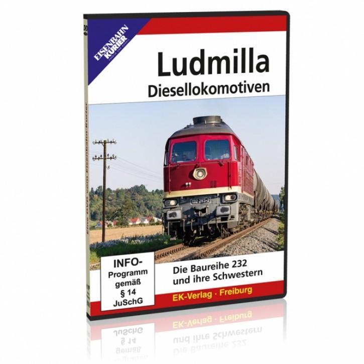 DVD: Ludmilla Diesellokomotiven. Die Baureihe 232 und ihre Schwestern