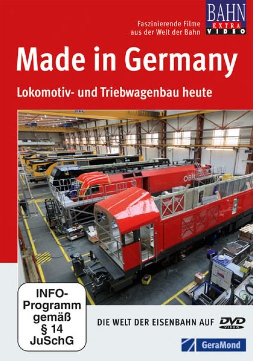 DVD: Made in Germany. Lokomotiv- und Triebwagenbau heute