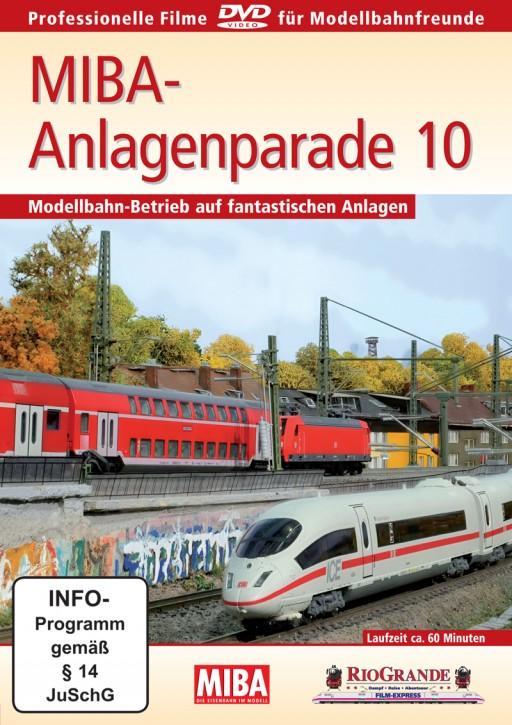 DVD: MIBA-Anlagenparade 10. Modellbahn-Betrieb auf fantastischen Anlagen