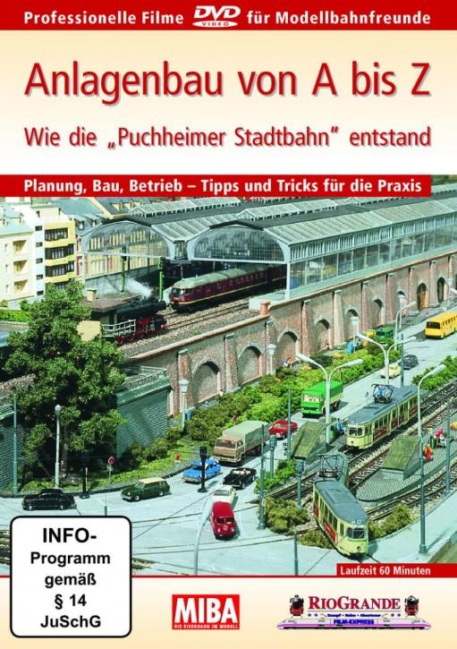 """DVD: MIBA - Wie die """"Puchheimer Stadtbahn"""" entstand"""