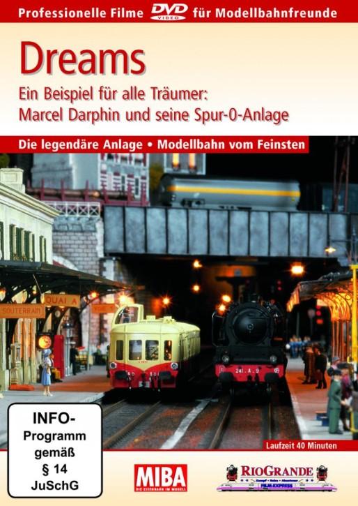 DVD: MIBA - Dreams. Marcel Darphin und seine Spur-0-Anlage
