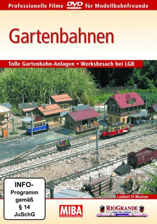 DVD: MIBA - Gartenbahnen