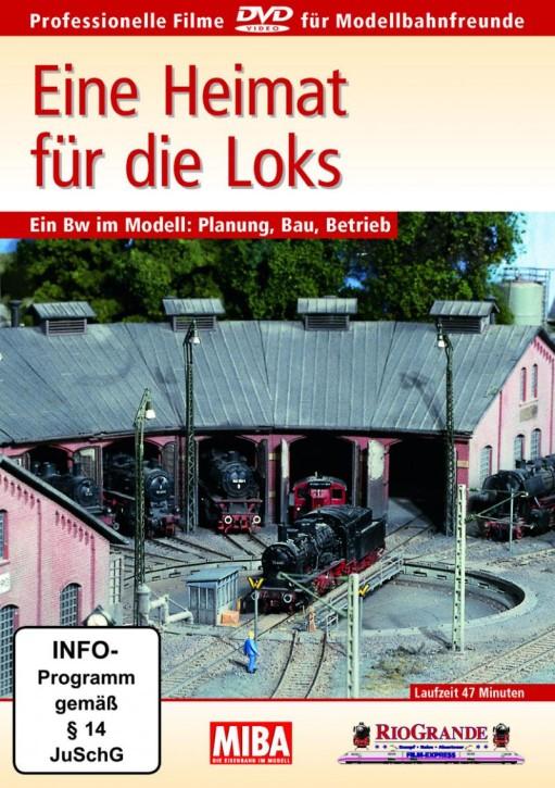 DVD: MIBA - Eine Heimat für die Loks