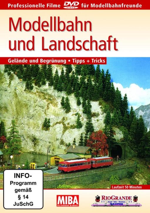 DVD: MIBA - Modellbahn und Landschaft