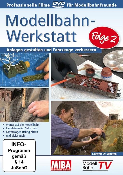DVD: Modellbahn-Werkstatt Folge 2. Anlagen gestalten und Fahrzeuge verbessern
