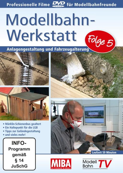 DVD: Modellbahn-Werkstatt Folge 5. Anlagengestaltung und Fahrzeugalterung