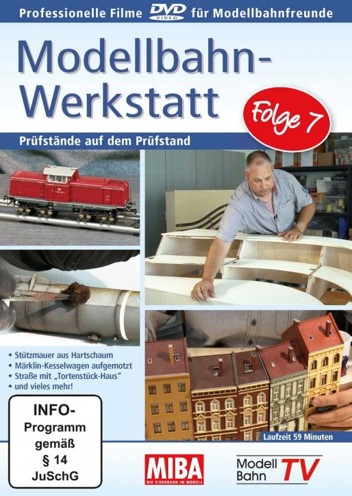DVD: Modellbahn-Werkstatt Folge 7. Prüfstände auf dem Prüfstand