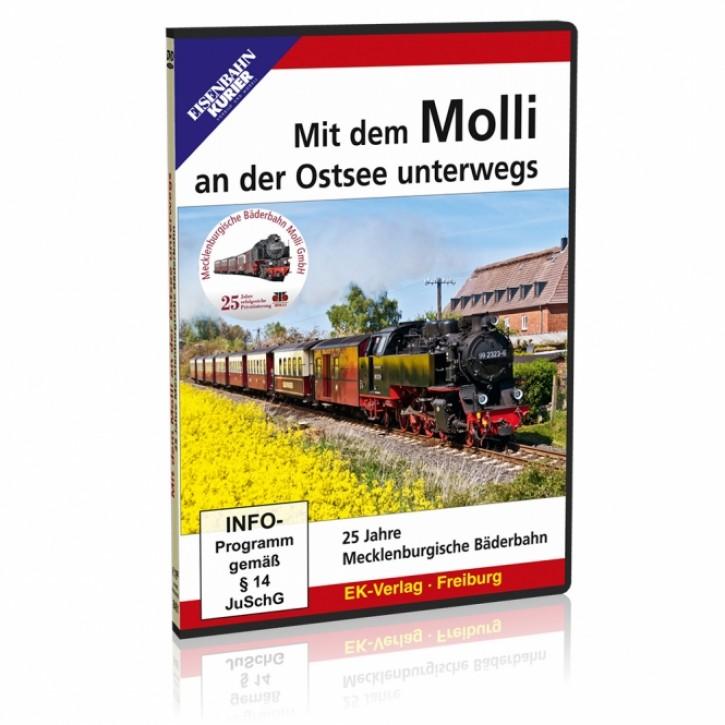 DVD: Mit dem Molli an der Ostsee unterwegs. 25 Jahre Mecklenburgische Bäderbahn